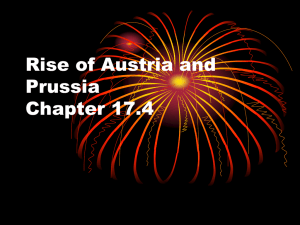 Rise of Austria and Prussia Chapter 17.4