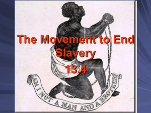 The Movement to End Slavery 13.4 pp
