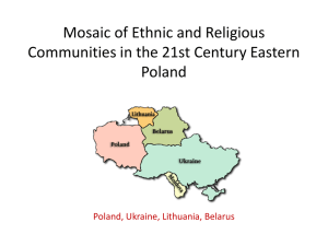 Ethnic and Religious Minorities in the 21st Century Poland