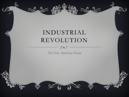 Industrial Revolution Invent