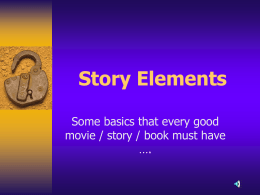 2014 Story Elements