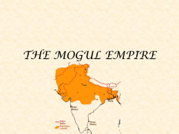 The Mogul Empire Powerpoint