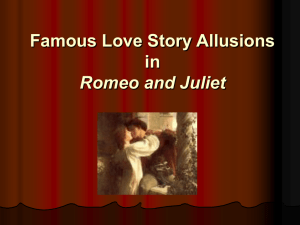 Mythological Allusions in Romeo and Juliet