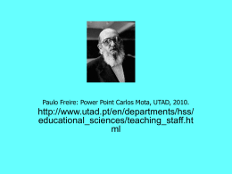 Paulo Freire, Power Point