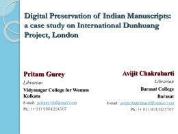 ISI-IDP-Pritam - Library(ISI Kolkata)