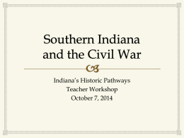 Southern Indiana and the Civil War by Dick Rumph