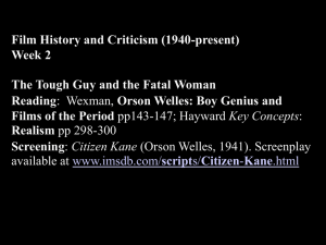 Film History and Criticism II 2