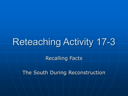 Reteaching Activity 17-3