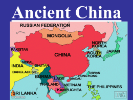 AP World-Ancient China