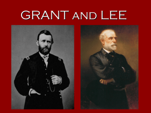 Grant and Lee notes
