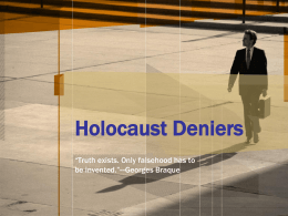 Holocaust Deniers