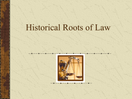 historical_roots_of_law
