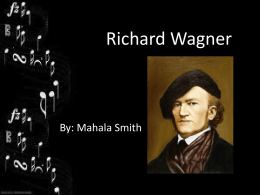 Richard Wagner PowerPoint