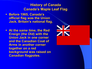 Unit 4 Lesson 6 Canada New Maple Leaf Flag