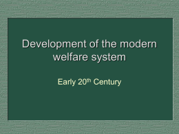 14 Development of modern welfare Trattner 10