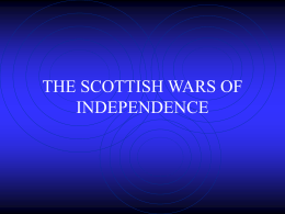 the scottish wars of independence 3