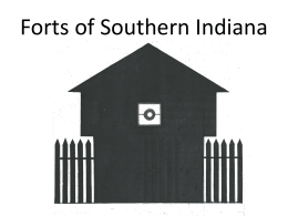 Forts of Southern Indiana by Richard Day