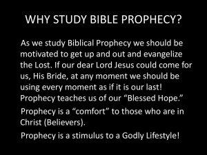WHY NOT PRETERISM? - Biblical Discipleship Ministries