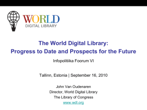 The World Digital Library