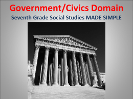 Government/Civics