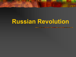 RussianRevolutionPreStalin