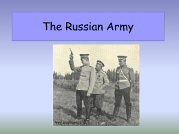 The Russian Army