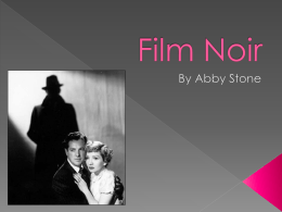 Film Noir Powerpoint