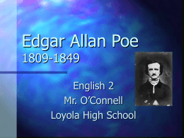 Edgar Allan Poe - teachers.yourhomework.com