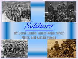soliders final - Valley View High School