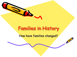 Families in History