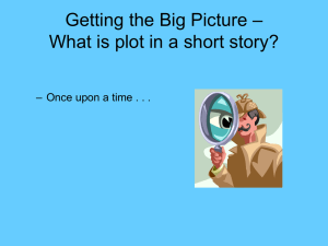 Getting the Big Picture – What is Plot?