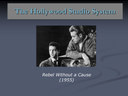 The Hollywood Studio System