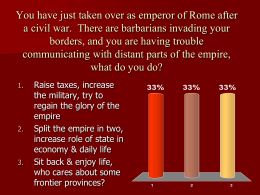 Fall of Rome & Rise of Christianity