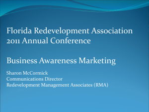 Business Awareness Marketing – Sharon McCormick