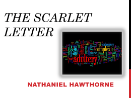 The Scarlet Letter - Greer Middle College || Building the Future