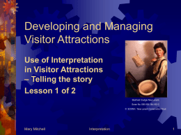 Developing and Managing Visitor Attractions
