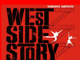 Background to West Side Story