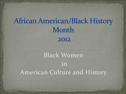 African-American-Black-History Month