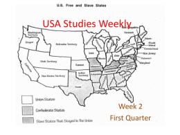 USA Studies Weekly - East Aurora School District #131