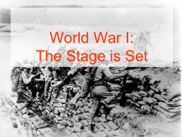 Powder Keg and the Causes of WWI