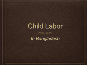 Presentation Child Labour