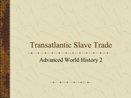 Slavery Overview PPT