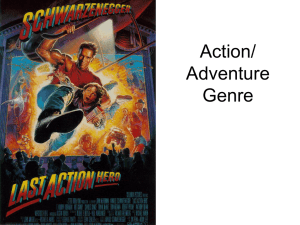 Action Adventure Genre PPT.