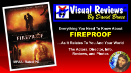 fireproof - Christ In Culture
