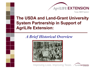 Cooperative Extension - Texas A&M University