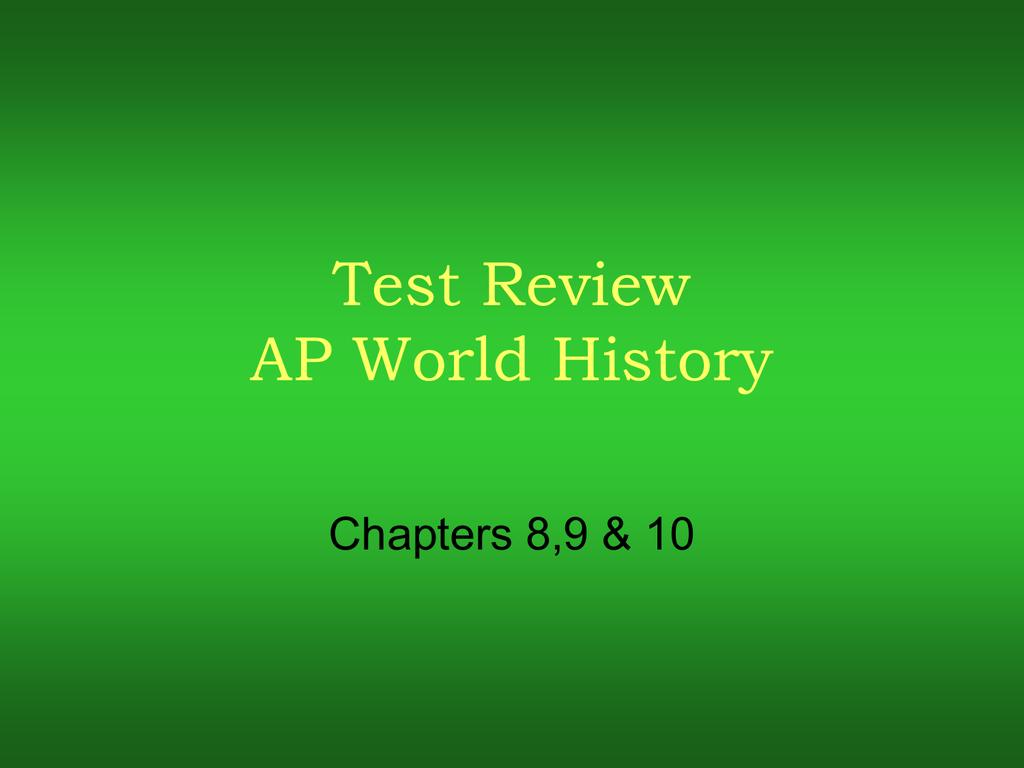 umma ap world history