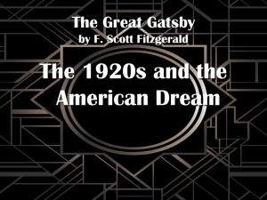 The-Great-Gatsby-Introduction