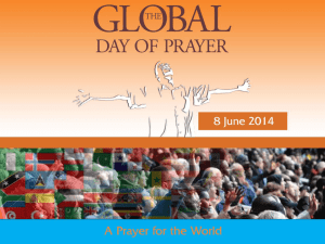 Prayer for the World ppt