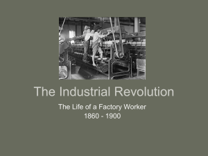 The Industrial Revolution - US History