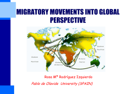 Migration into global perspective Rosa Rodriguez
